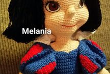SnowWhite / crochet amigurumi snow white doll