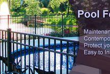 Aluminum Fences/Aluminum Pool Fencing