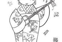 geisha kokeshi