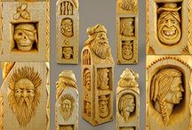 Wood Carvings and Works