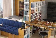 Huonekaluja ahtaaseen kotiin - Furnitur for a cramped studio