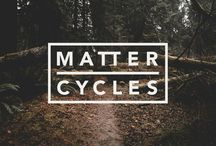 Matter Cycles / Art Direction and Identity System for a custom bike builder