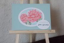 Geburtstagskarten / Geburtstagskarten aus Kerstins Kartenwerkstatt