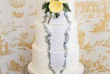 White Classic Beautiful Wedding Cakes