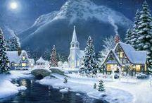 vánoční obrazky