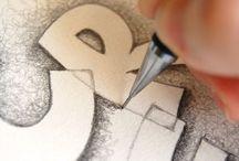 esercitazioni lettering