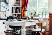 studio/office / by Sharon [share-RUN] Taylor of Pickwick House
