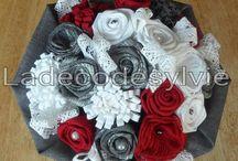 Mariage en gris, rouge et blanc / Mariage en gris, rouge et blanc