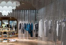 metal mesh shop design / all about metal mesh in interior and shop design