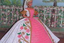 Doll Barbie Fashion crochet