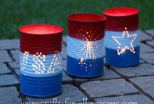 July4th (red, white & blue) / by Maure Gardiner