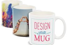 Sublimation Mugs / Sublimation mugs are mugs which have a special coating on them to print on them. They are available in just plain white but also variations such as having a coloured inner and/ or a coloured handle. Most popular sublimation mugs are 11oz in size but you can get them in 6oz, 10oz, 12oz conical latte and 17oz large latte sizes as well.