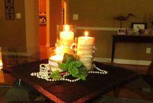 Wedding centerpiece / by Debbie Woodward