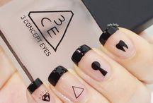halloween nails / #fall nails # nails color #nails