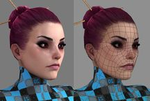 Realistic 3d Womans