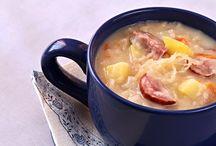 jídlo polévky