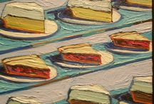 Wayne Thiebaud American Painter / Looking for his bluest shadows