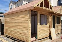 O u t d o o r s   G a r d e n s / Up-cycled/ recycled pallet furniture, tree houses, beach huts, sheds, gates, decking...