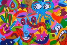 EL Art / Het maken van kunst
