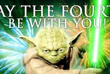 """May the Fourth Be With You / """"May the Fourth Be With You"""" - Star Wars Day, May 4, 2016 / by Foley Public Library"""