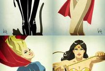 Superheros and supervillains