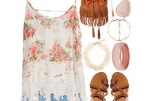 Hippie/Boho/Hipster Outfit / by Paolla Dantas