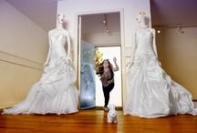 Bridalshop / Het interieur van de Bruidssalon. Doe ideeën op voor je bruiloft.