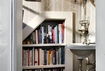 bookshelves / by Claudia Hill-Sparks