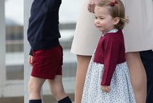 Prince George of Cambridge and Princess Charlotte of Cambridge