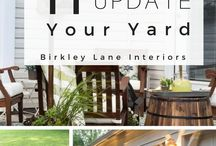 Curb Appeal on a Budget / Come and get inspired with these gorgeous ideas for your front yard, porch, landscape and patio spaces!