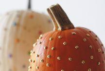 Herbst und Herbstdeko