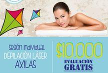 Depilación Laser Ofertas Septiembre 2014 / Ofertas de Depilación Láser para celebrar las fiestas patrias!