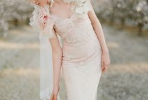 Inspiration Dreamy Wedding / wedding decorations, romantic decorations, vintage wedding, wedding dresses