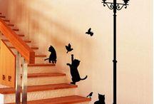 para la escalera
