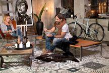 Livingroom / Smycka ditt vardagsrum med kakel och klinker - både praktiskt och väldigt vackert.
