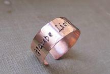 Ringe / Schöne personalisierte Ringe. Geschenkideen