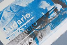 Risograph / Risograph prints, fluo colours and stuff!