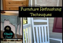 How to Refinish Furniture / by Amy Vogler
