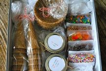 Gift ideas / Baskets and ideas for Christmas