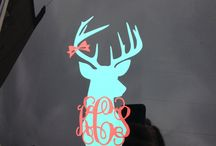 Car decals / by Michelle Nance