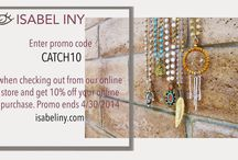 Isabel Iny promos!