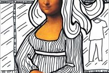 Mona Lisa Art Projects for Kids / by Tere Dixon