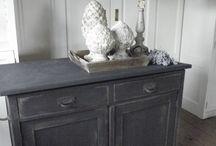 Meubels pimpen / Geef oude meubels een tweede leven. Kijk hier voor tips en inspiratie!