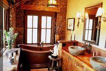bathrooms / by Julie Bowdle
