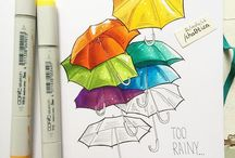 markers art