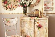 Vintage Dekorasyonlar / Evinizde vintage tarzını seviyorsanız bu tasarımlar tam size göre / by Hürriyet Emlak