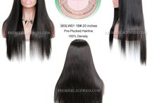 Improved 360°Anatomic Lace Wigs