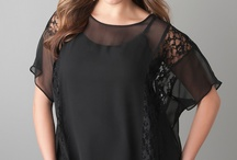 Tops (plus size) to wear with black leggings / by Lorali Frost