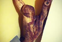Nature wood design