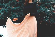faldas plizadas